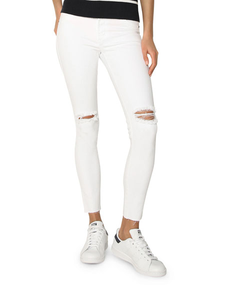 James Jeans James Twiggy Ankle Distressed Denim Leggings