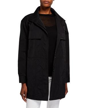 08ce95ef2b41 Lafayette 148 New York Alonda Chic Outerwear Jacket