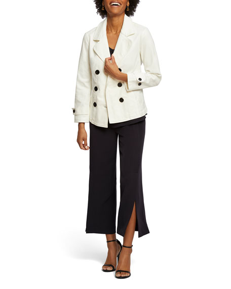 NIC+ZOE Dive In Wide-Leg Pull-On Pants