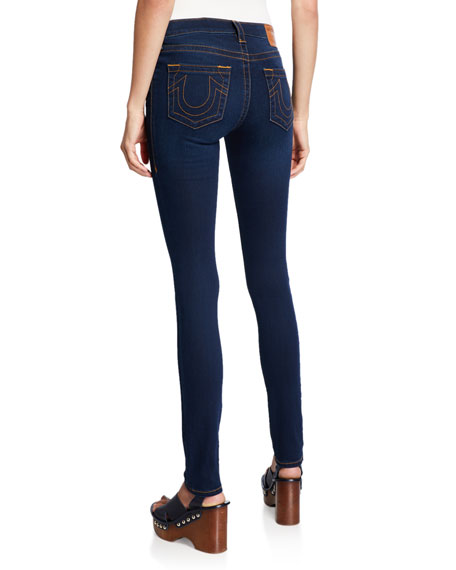 True Religion Stella Mid-Rise Skinny Jeans