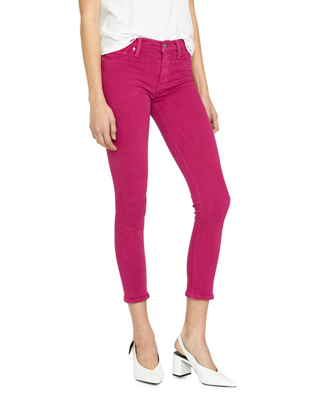 Image 2 of 4: Hudson Nico Mid-Rise Cropped Skinny Jeans