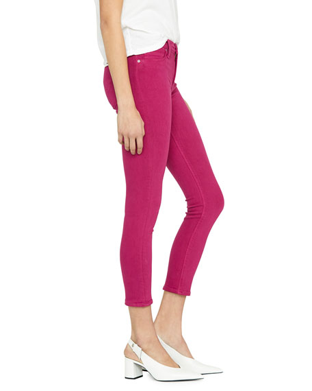 Image 3 of 4: Hudson Nico Mid-Rise Cropped Skinny Jeans