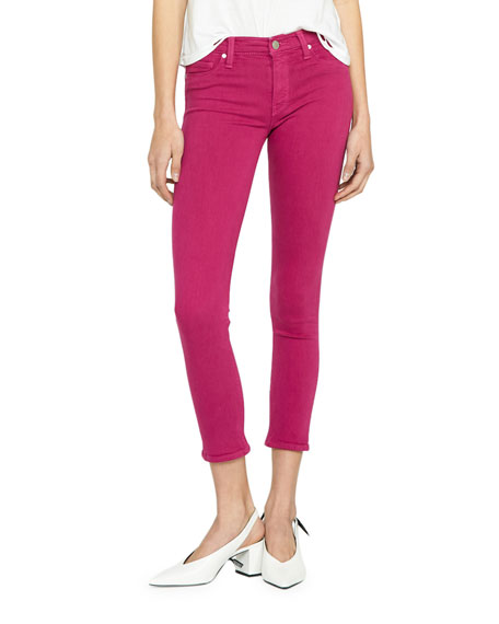 Image 1 of 4: Hudson Nico Mid-Rise Cropped Skinny Jeans