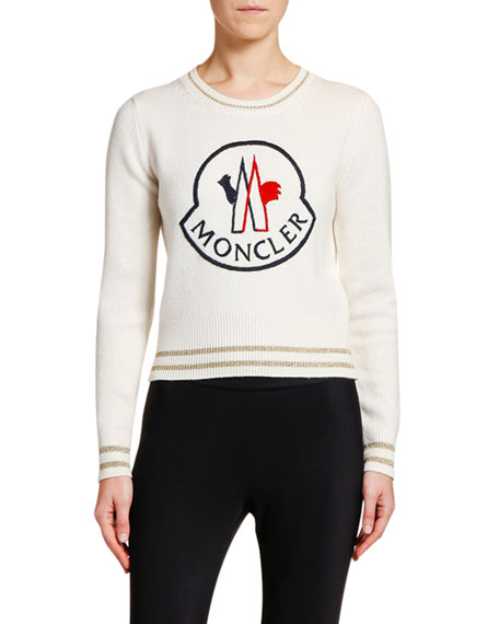 Moncler Logo-Patch Sweater