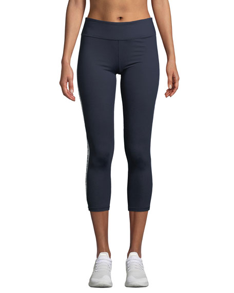 Tory Sport Banner 7/8 Performance Leggings