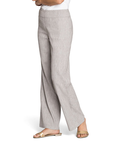 NIC+ZOE Here or There Mid-Rise Pull-On Pants