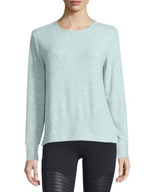 premium selection ab81d 34c45 Alo Yoga Glimpse Long-Sleeve Top