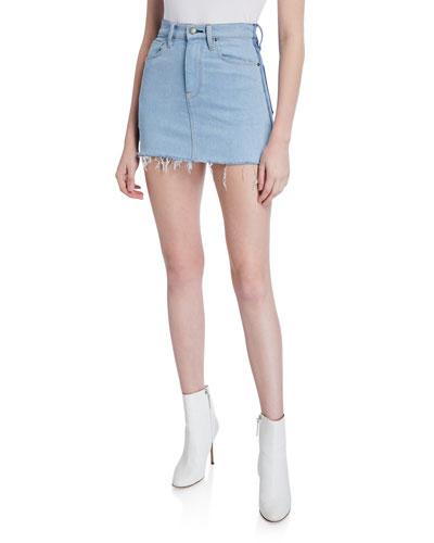 Viper Denim Mini Skirt