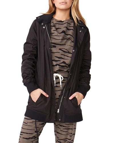 Parka Jacket with Detachable Hood