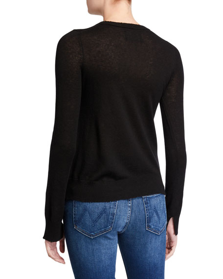 Zadig & Voltaire Source Sequined Cashmere Sweater