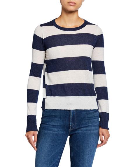 Zadig & Voltaire Source Cashmere Striped Sweater