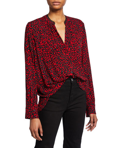 Tink Leopard-Print Tunic