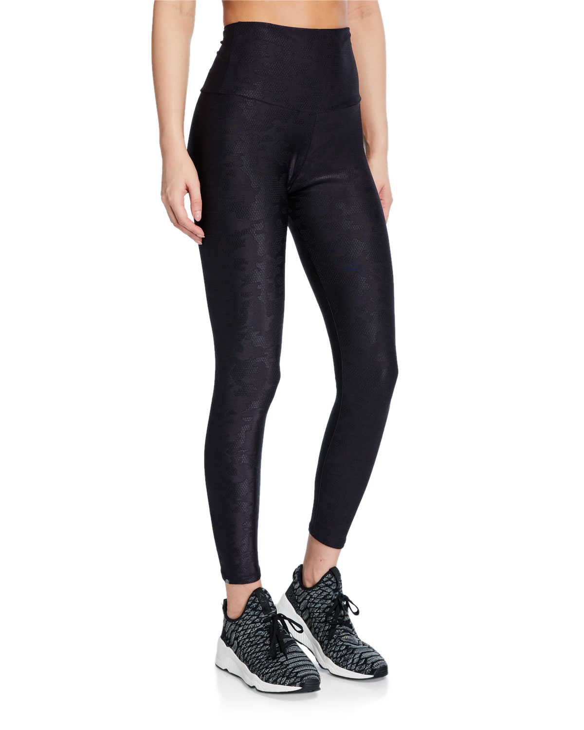 Onzie Camo Jacquard High-Rise Leggings