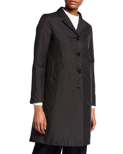 Carmella Button-Front Coat