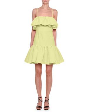 c9dbeea415c0 MSGM Sleeveless Ruffle Dress