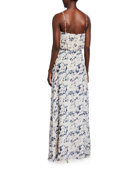 WAYF The Savannah Blouson Cami Gown