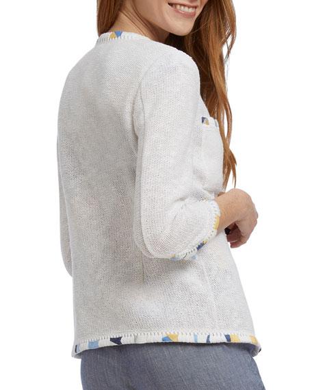 NIC+ZOE Staycation 3/4-Sleeve Jacket
