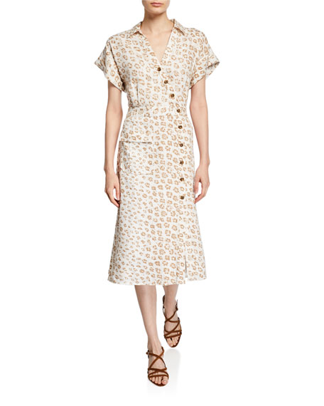 Joie Coady Linen Dress