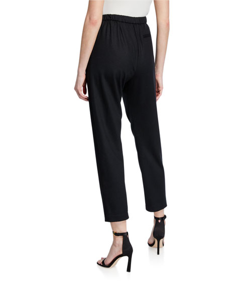 Image 2 of 3: Forte Forte Chic Flannel Drawstring Pants