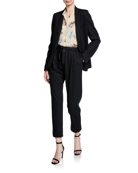 Image 3 of 3: Forte Forte Chic Flannel Drawstring Pants