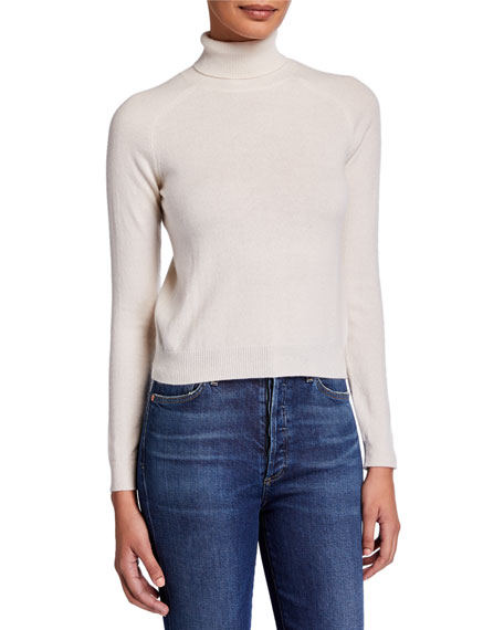 Majestic Paris for Neiman Marcus Cashmere Long-Sleeve Turtleneck Sweater
