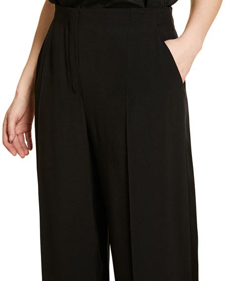 Marina Rinaldi Plus Size Wide-Leg Tuxedo Pants