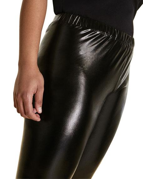 Marina Rinaldi Plus Size Vinyl Effect Leggings