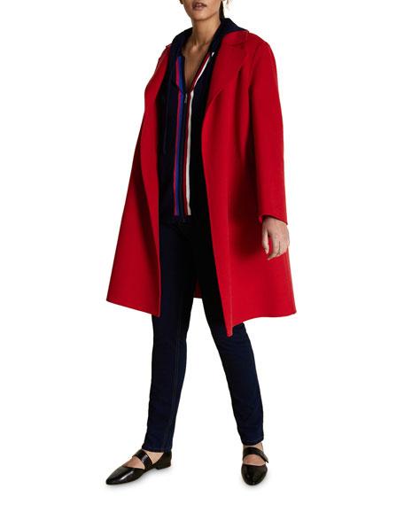 Marina Rinaldi Plus Size Double Wool Coat