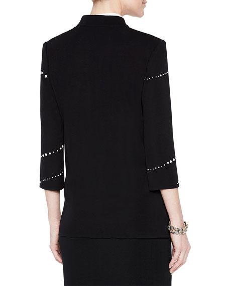 Misook Pearl Detail Jacket