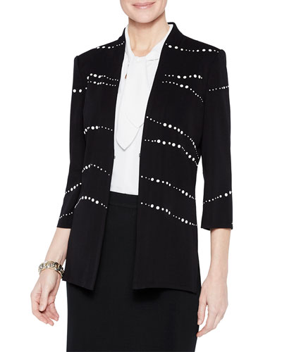 Pearl Detail Jacket