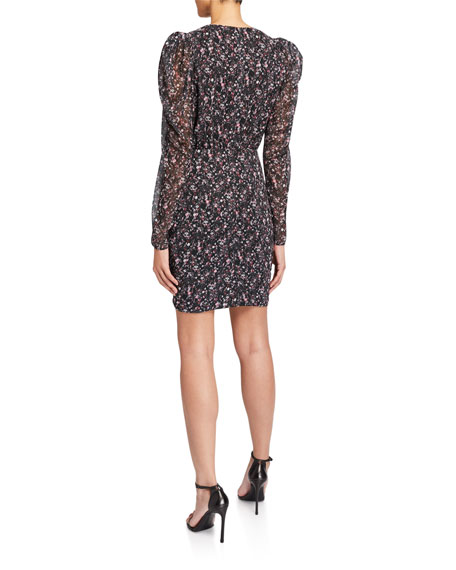 CAMILLA AND MARC Peyton Long-Sleeve Mini Dress