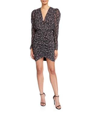 adba6ee2ee9 CAMILLA AND MARC Peyton Long-Sleeve Mini Dress