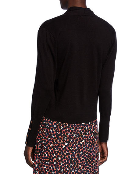 NIC+ZOE Plus Size Book Club Cardigan with Button Detail
