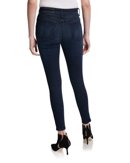 Image 2 of 3: Nina High-Rise Skinny Jeans