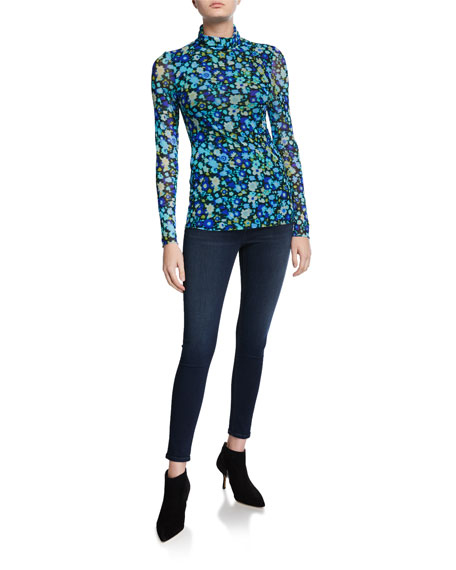 Image 3 of 3: Nina High-Rise Skinny Jeans