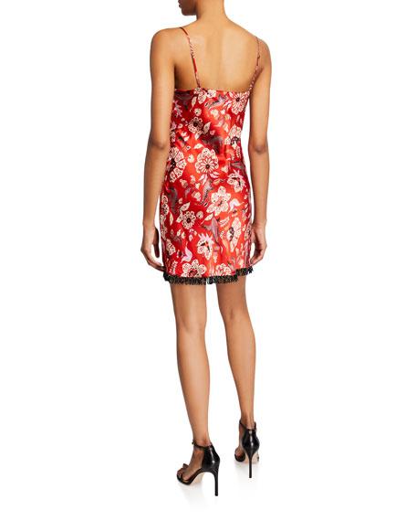cinq a sept Avalyn Floral-Print Slip Dress