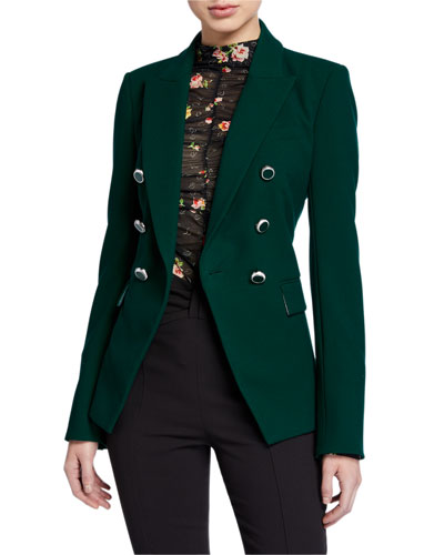 Miller Dickey Jacket with Enamel Buttons