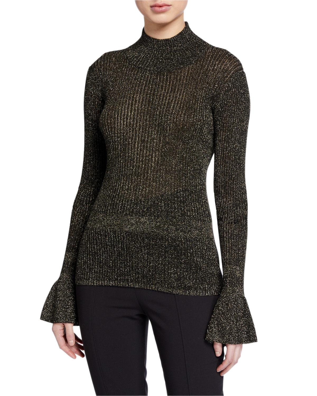 Lilia Turtleneck Sweater by Veronica Beard