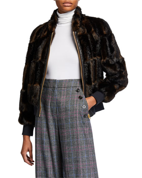 Bellfire Faux Fur Bomber Jacket by Veronica Beard
