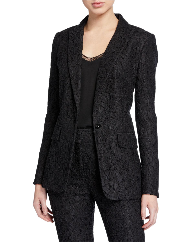 Ashburn Lace Jacket by Veronica Beard