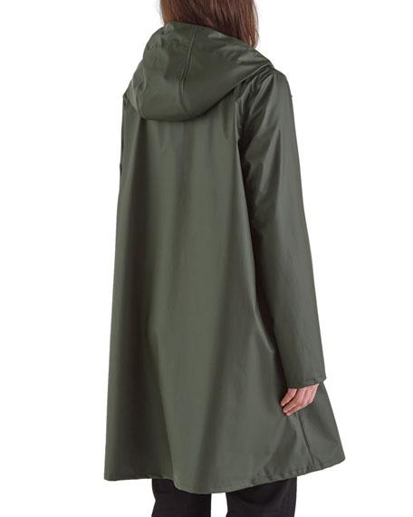 Stutterheim Mosebacke Lightweight Raincoat, Green