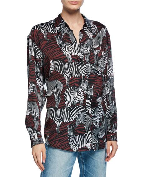 Le Superbe Zebra Posse Ex-Boyfriend Shirt