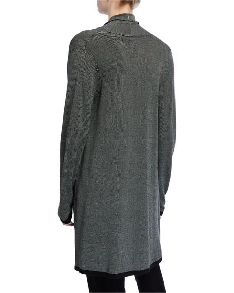 Eileen Fisher Trimmed Kimono Cardigan