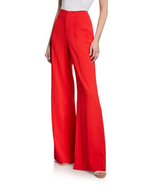 a09db21c99 Alice + Olivia Dylan Clean High-Waist Wide-Leg Pants