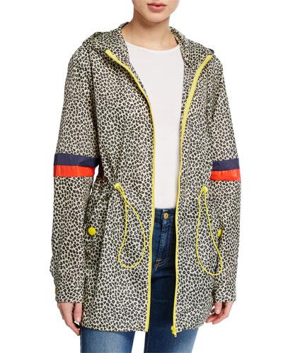The Tamu Leopard-Print Parka Jacket