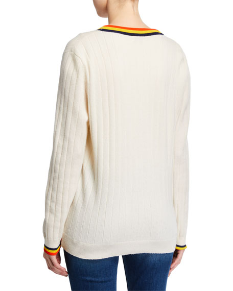Kule The Leon Button-Front Sweater