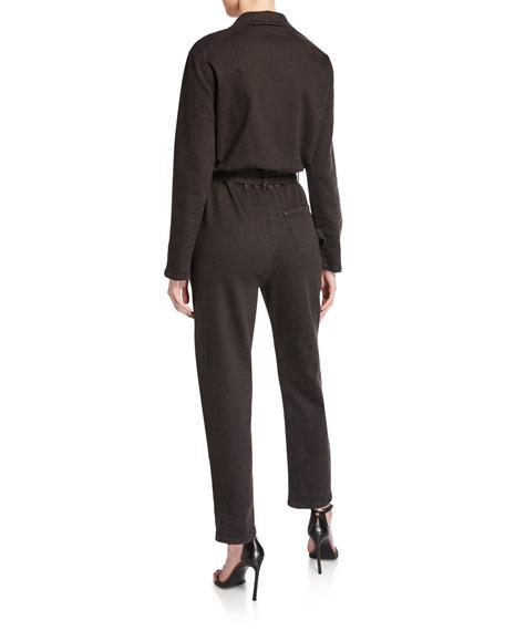 Iro Flories Cotton Utility Jumpsuit