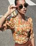 Faithfull the Brand Mali Floral-Print Wrap Top