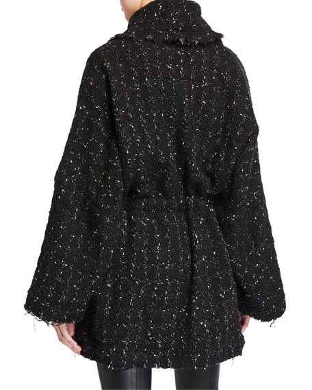 Iro Pelops Single-Breasted Tweed Coat