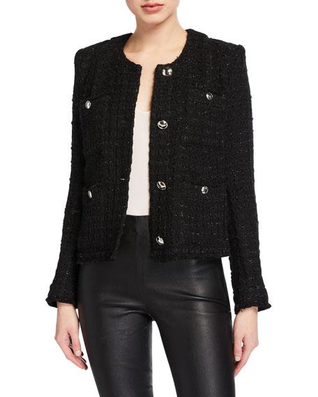 Iro Tetys Boxy Tweed Jacket